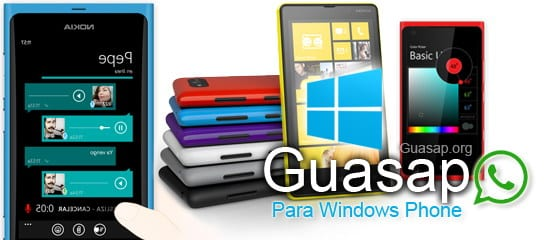 guasap windows phone